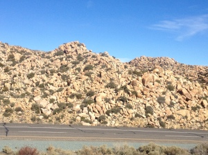 "Rock ""formations"" on Hwy 8"