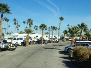 "Desert Holiday RV Resort""for active 55+"""