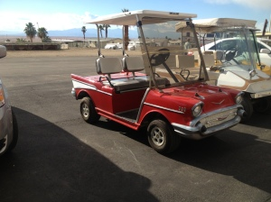 Golf cart of the day