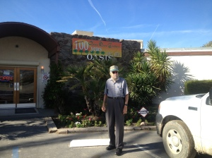 Dad at the Oasis Date Growers store