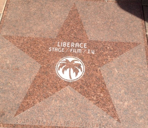 Who doesn't love Liberace?  We should all have the courage to dress as we please.