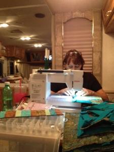 Me......sewing