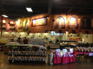Cardenas Market, front of store by the bakery