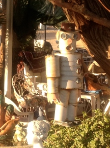 Tin Can Robot -- they're popular here