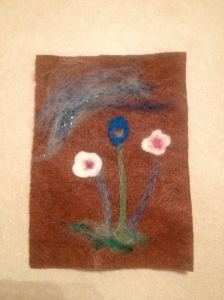 "Having fun ""playing"" with needle felting"