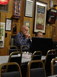 The harmonica player.  He was REALLY good!