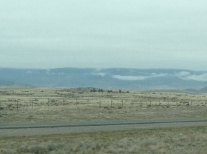 Beautiful high desert country