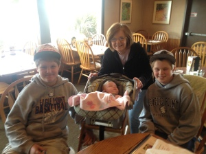 Rylan, Millie, Sandy, and Mason
