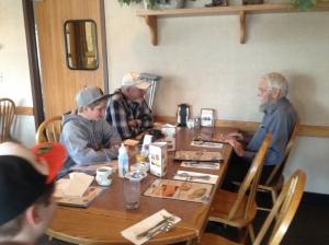 Mason, Frank, and Dad