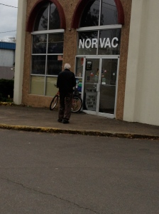 A trip to Norvac for parts.  (upon installation, the newly purchased transformer blew up)