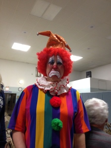 It's a clown.......