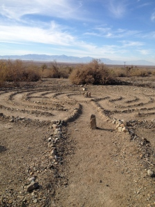 Labyrinth in the desert