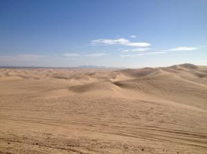 Glamis sand dunes.