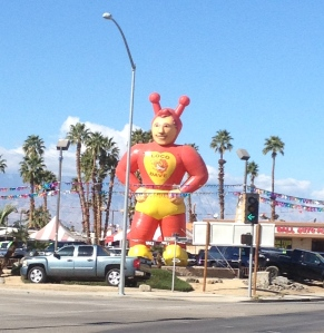 Loco Dave.  We passed him on the way into Indio.