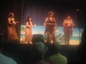 """Gilligan's Island,"" the drama group""s presentation."