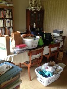 Big, big, big sewing mess to unpack.
