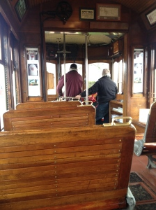 We rode the trolly.