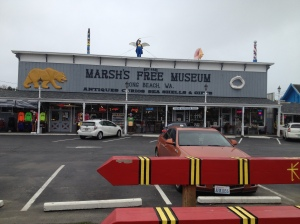 "We crossed the river and went to ""Marsh's Free Museum."""