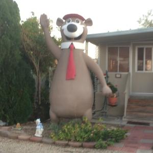 Wonderful, welcoming Yogi Bear!
