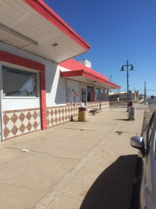Donut Avenue.  It's on the end.  Yes, it looks a little bleak.