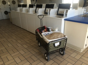 Laundry.  No one likes doing it.  It makes me crabby.