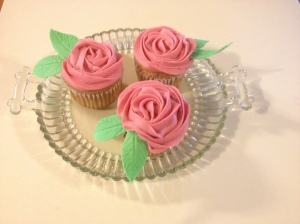 The cup cakes